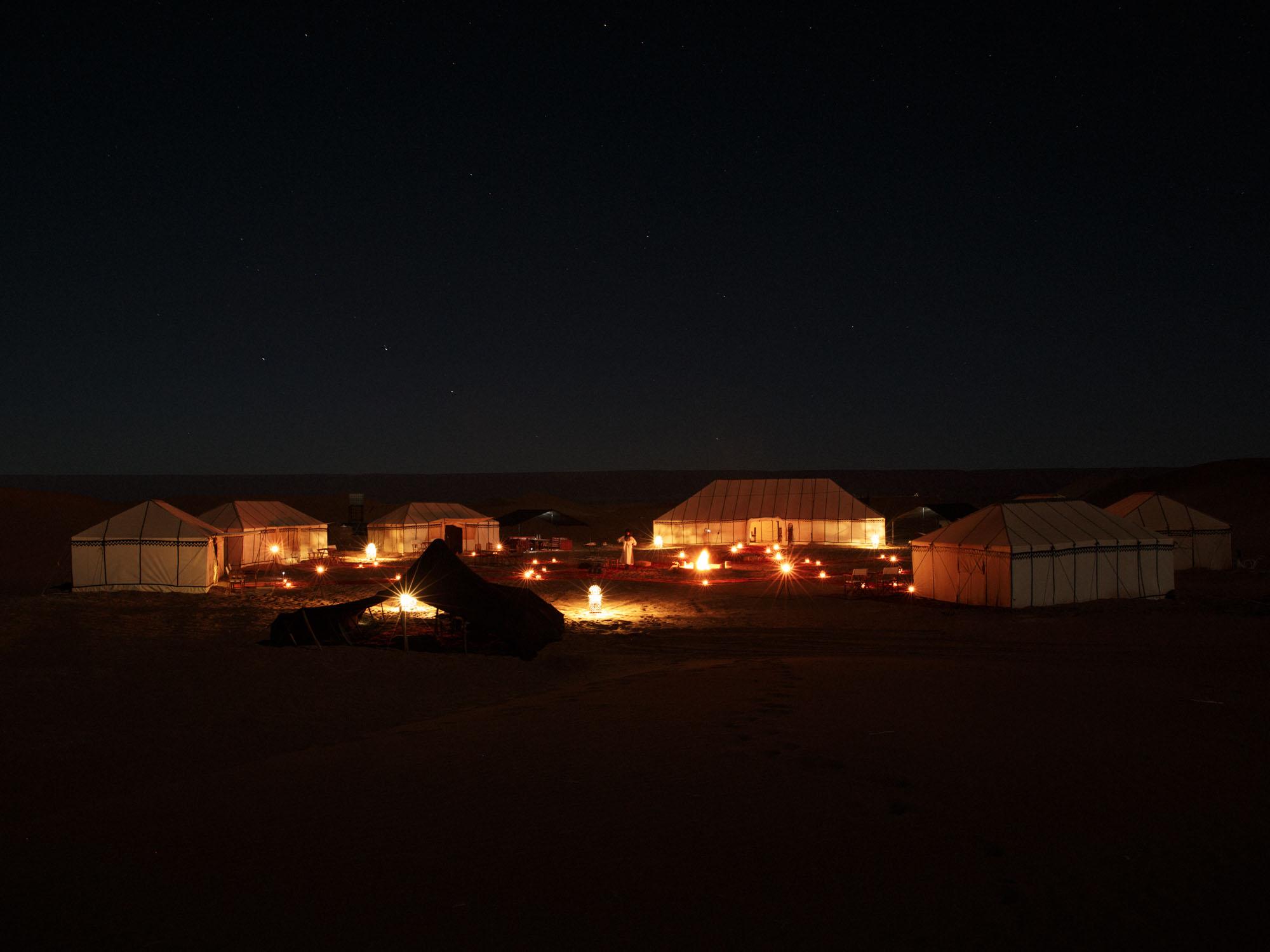 Luxury Desert Camp Under Starlight Erg Chegaga Morocco