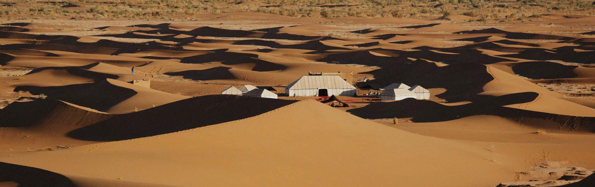 Authentic Sahara Desert Camp Accommodation for Yoga Retreat