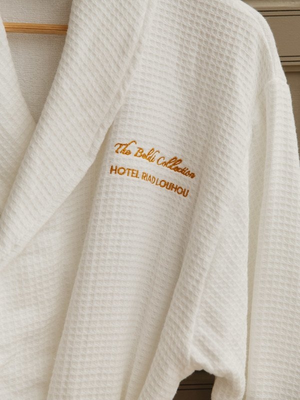 Morocco Hotel Riad LouHou Marrakech, Branded BathRobe