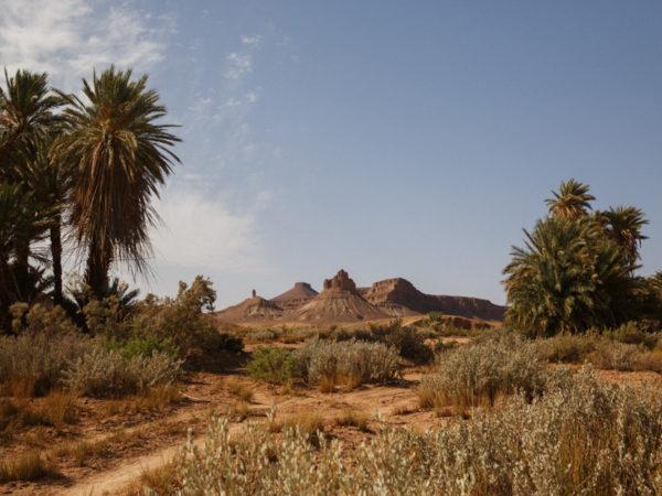 Location of the Desert & Mountain Bike Race in Morocco