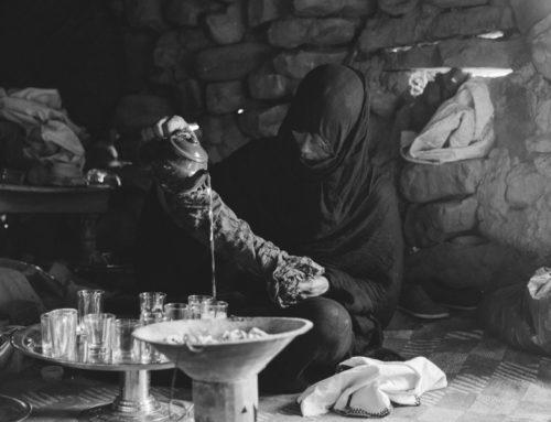 Tea Ceremony in Morocco